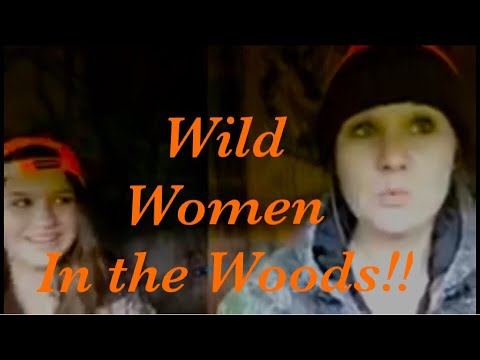 WILD WOMEN IN THE WHITETAIL WOODS 😲😲😲 at Hollis Farms