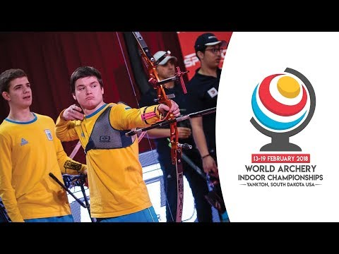 Iran v Ukraine – recurve junior men's team gold final | Yankton 2018