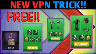 New VPN Trick For Pubg MobileFree Legendary Outfits SkinsPubg Mobile