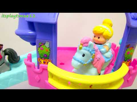 Disney Little People Klip Klop Princess Stable - itsplaytime612