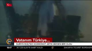SURİYE Lİ KOZMONOT un uzay hikayesi 24 TV 8 Mart 2018