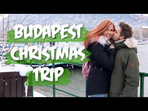 Budapest Christmas Market Trip Hungary, Danube Sightseeing Cruise, Vlogmas 2018 | Couple Vlog #117