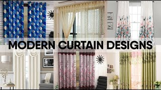 Curtain Design | Curtain Designs for Bedroom, Living Room | Room Decor - घर की सजावट