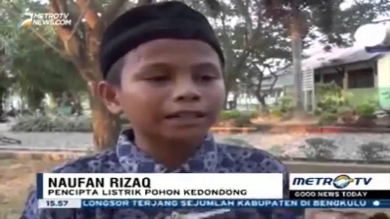 Energi Listrik Dari Pohon Kedondong Hasil Riset Siswa Madrasah Tsanawiyah