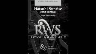 Hatsuhi Sunrise - Joseph Benjamin Earp
