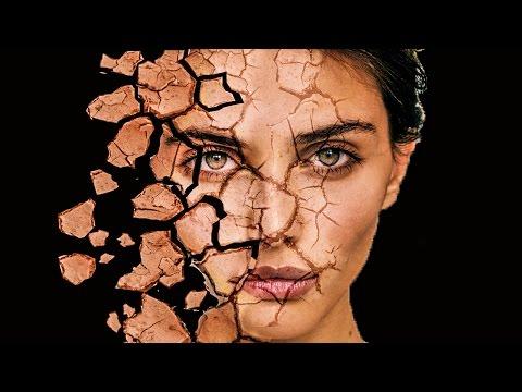 Cracked Face Disintegration  | Photoshop Tutorial Cs6/cc