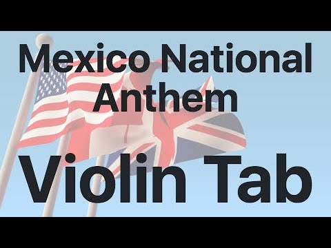 Learn Mexico National Anthem On Violin - How To Play Tutorial