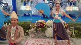 "Tari Bedana Kipas (Lampung) Backsong ""Hudiya"""
