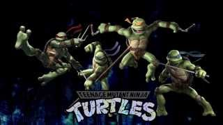 Ninja Turtles Motion Background