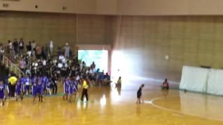滋賀県中学ハンドボール決勝!
