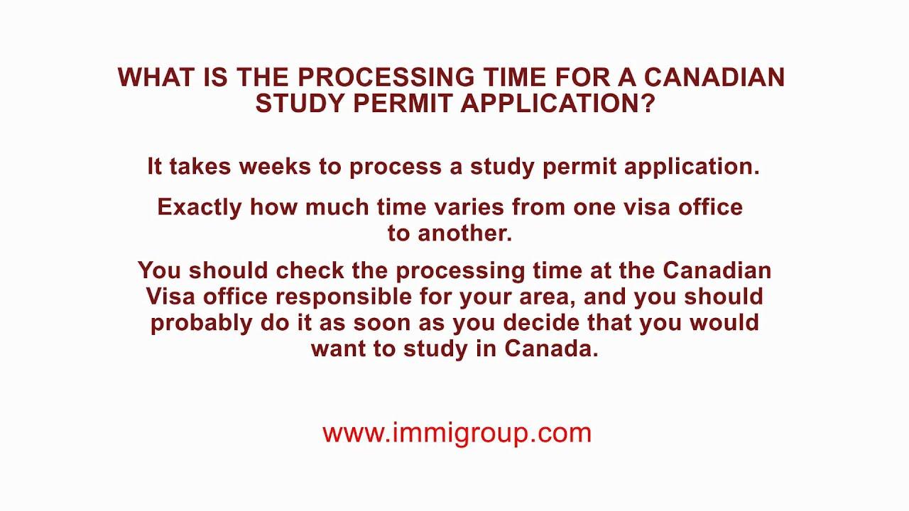 What is the processing time for a Canadian Study Permit application Online Application Form Canada Student Visa on canada citizenship form, canada immigration form, canada work permit, parent contact information form, canada tourism, usa visa form, canada tax form, spain visa form, canada employment, united states embassy application form, canada home, canada visitor record, adventure in letter form, laos visa on arrival form, canada registration form, green card application form, canada visa medical form, cyprus visa form,