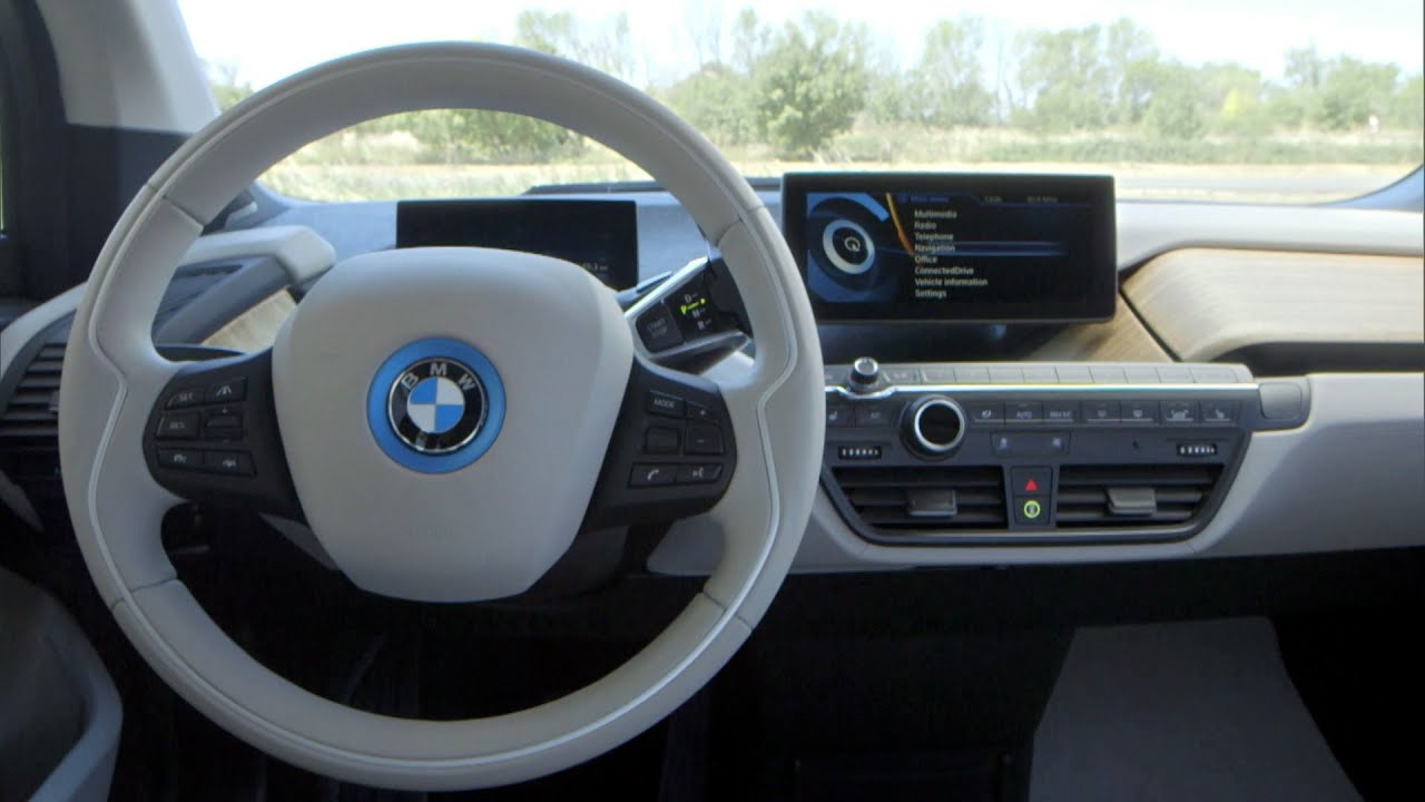 bmw i3 2014 interior youtube. Black Bedroom Furniture Sets. Home Design Ideas