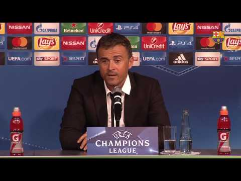 Luis Enrique: 'Good strategy produced a deserved victory'