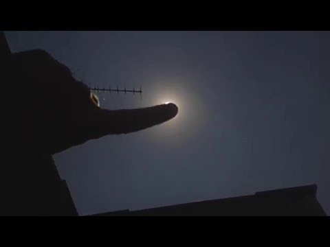 Nibiru / Second Sun in Barcelona, Camera Lens Flare Test