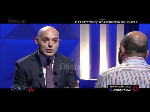 "Intervista ne ""Opinion""/Gazetari Olldashi: Nuk e pashë Agron Xhafajn"