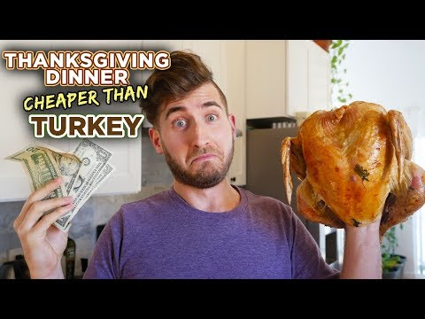 What you can cook for the price of a TURKEY - a Vegetarian Feast