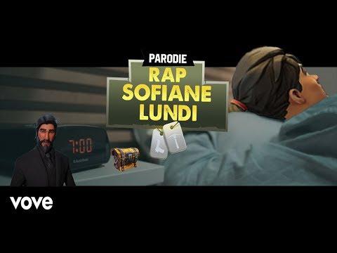 SOFIANE -Lundi [Parodie Fortnite]