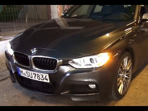 Bmw 335i F30 Xdrive M Sport Test Drive Youtube