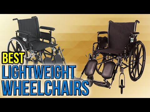 7 Best Lightweight Wheelchairs 2017