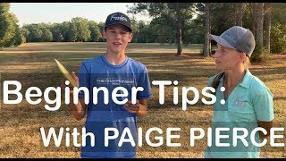 PAIGE PIERCE lessons and tips at USDGC Day 3, 2019