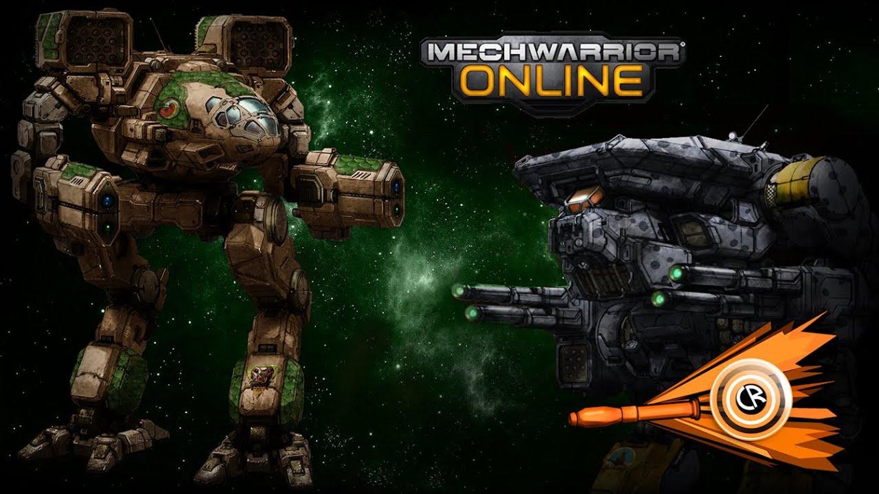 Mechwarrior Online - Hellbringer Gameplay - YouTube