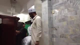 VIDEO FULL IMAM MASJID DIBALI KETIKA GEMPA!!!!
