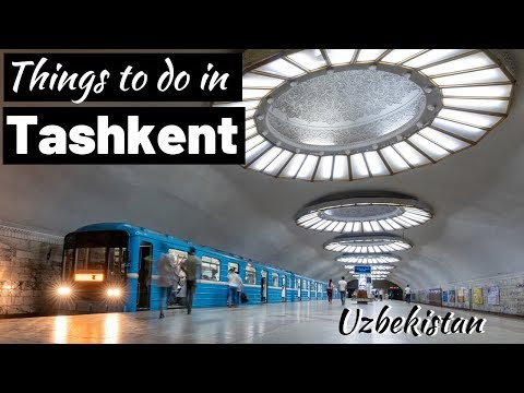 WORLD'S COOLEST METRO SYSTEM!!! - Things to Do in Tashkent, Uzbekistan