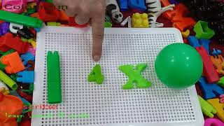 How to do fun with  different colours /colour fun/ nursery kids lesson to learn colour  with objects