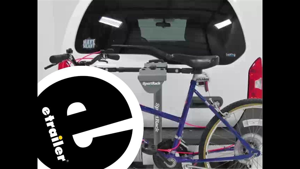review of the sportrack bike frame adapter bar etrailercom