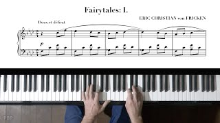 Eric Christian Fairytale No.1 P. Barton, FEURICH 133 piano