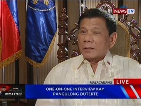 NTVL: One-on-one interview kay Pangulong Duterte