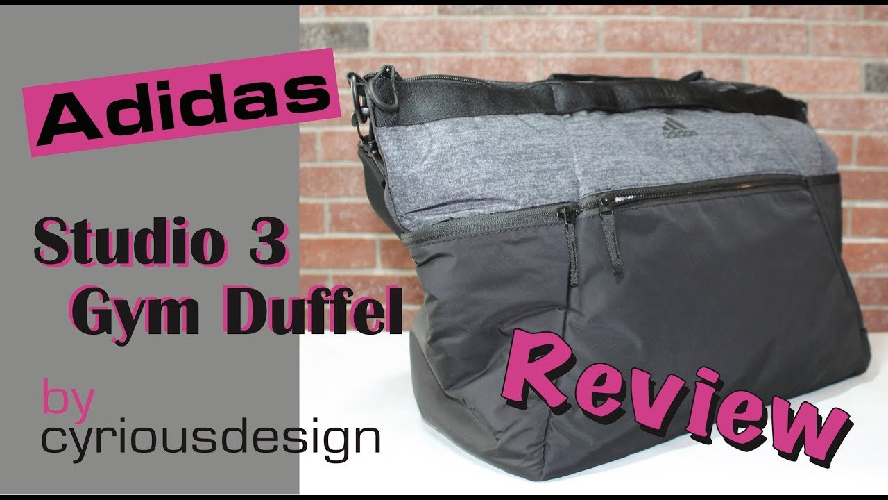 6f23339d4008 Adidas Studio 3 Duffel Review - YouTube