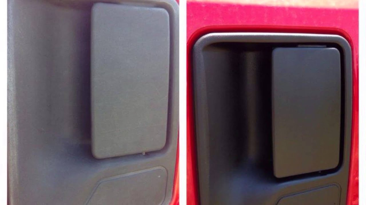 How to restore faded and oxidized black plastic trim with the best solution finish youtube for Best way to restore exterior black plastic trim