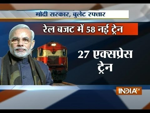 Watch highlights of rail budget 2014