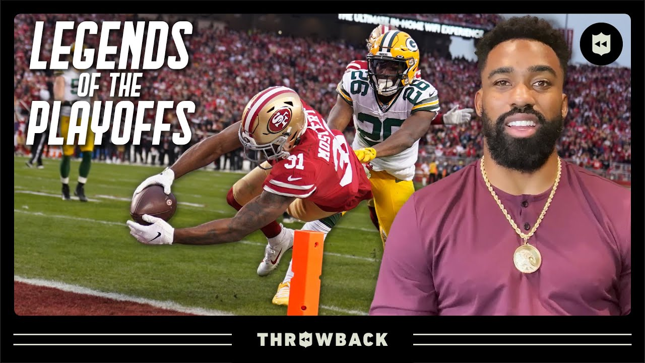 Raheem Mostert Relives Record-Setting 2019 NFC Championship | Legends of the Playoffs