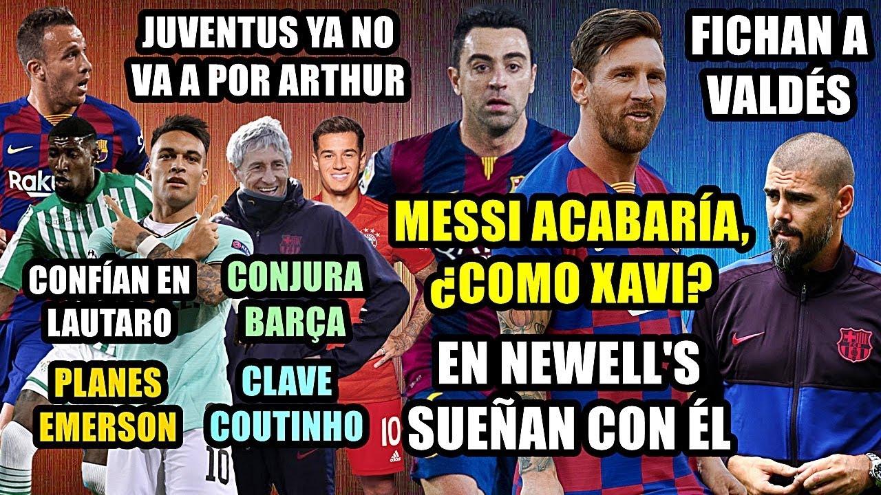 Barcelona planea la reconstruccin con Messi como pilar