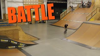 HUGE GAP - Backside 360 Kickflip Battle