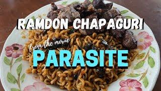 "ramdon chapaguri from the movie ""Parasite""   Hafiiz Rashid"