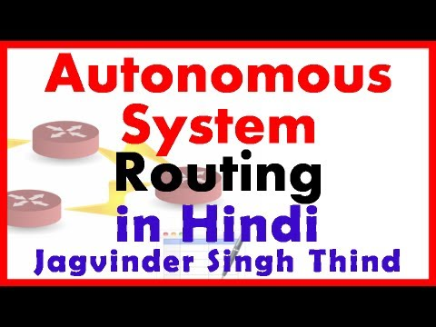 Cisco CCNA - Autonomous System - Routing part 18