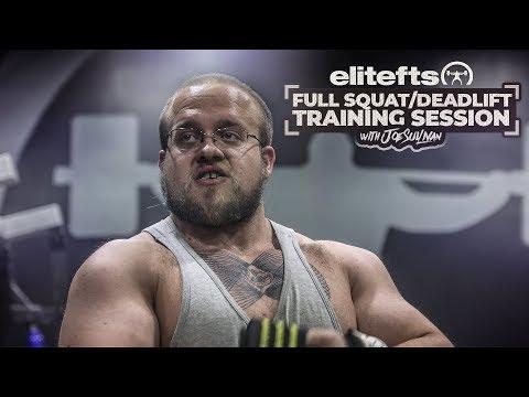 Joe Sullivan Full Squat/Deadlift Session | elitefts.com