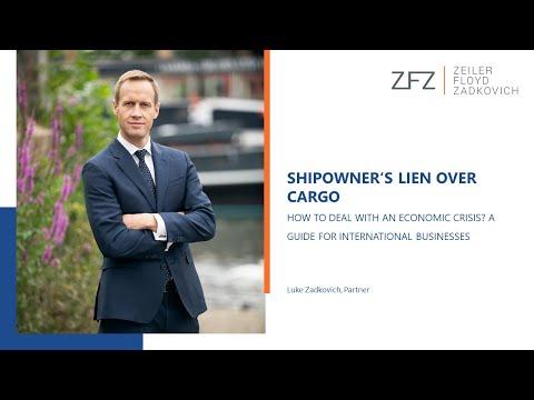 Shipowner's Lien over Cargo