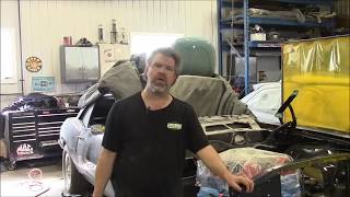 1968 Pontiac Firebird Restoration Update, Radiator Support,  lastchanceautorestore com