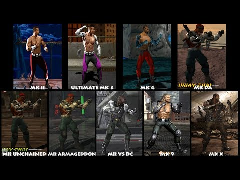Mortal Kombat JAX Graphic Evolution 1993-2015 | ARCADE PSX PS2 PSP XBOX PC | PC ULTRA thumbnail