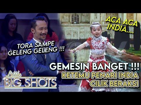 Gemes Banget! Tora Sudiro Ketemu Penari India Cilik | Little Big Shot Indonesia #2 (2/4) GTV 2017