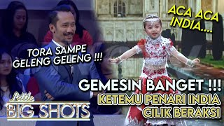 Gemes Banget! Tora Sudiro Ketemu Penari India Cilik | Little Big Shot Indonesia #2 (2/4) GTV 2017