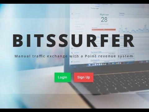 BitsSurfer Bitcoin Traffic Exchange [Auto Surf Script]