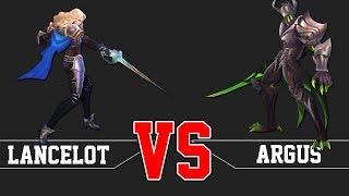 LANCELOT VS ARGUS MOBILE LEGENDS