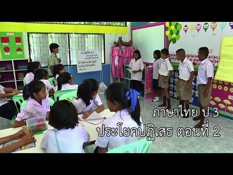 ภาษาไทย ป.3 ประโยคปฏิเสธ ตอนที่ 2 ครูบุปผา ล้วนเล็ก