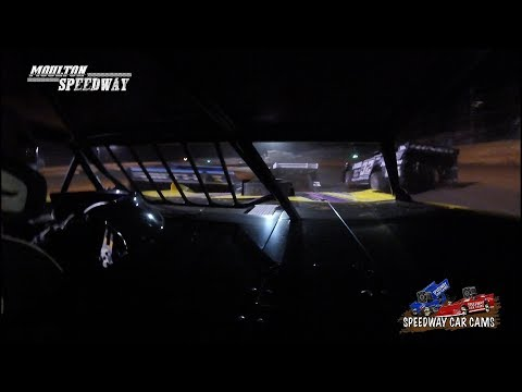 #21 Jason Lively - Super Late Model - 3-17-18 Moulton Speedway - In Car Camera