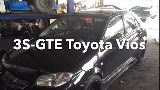 Toyota Vios Swapped 3S-GTE (Malaysia)